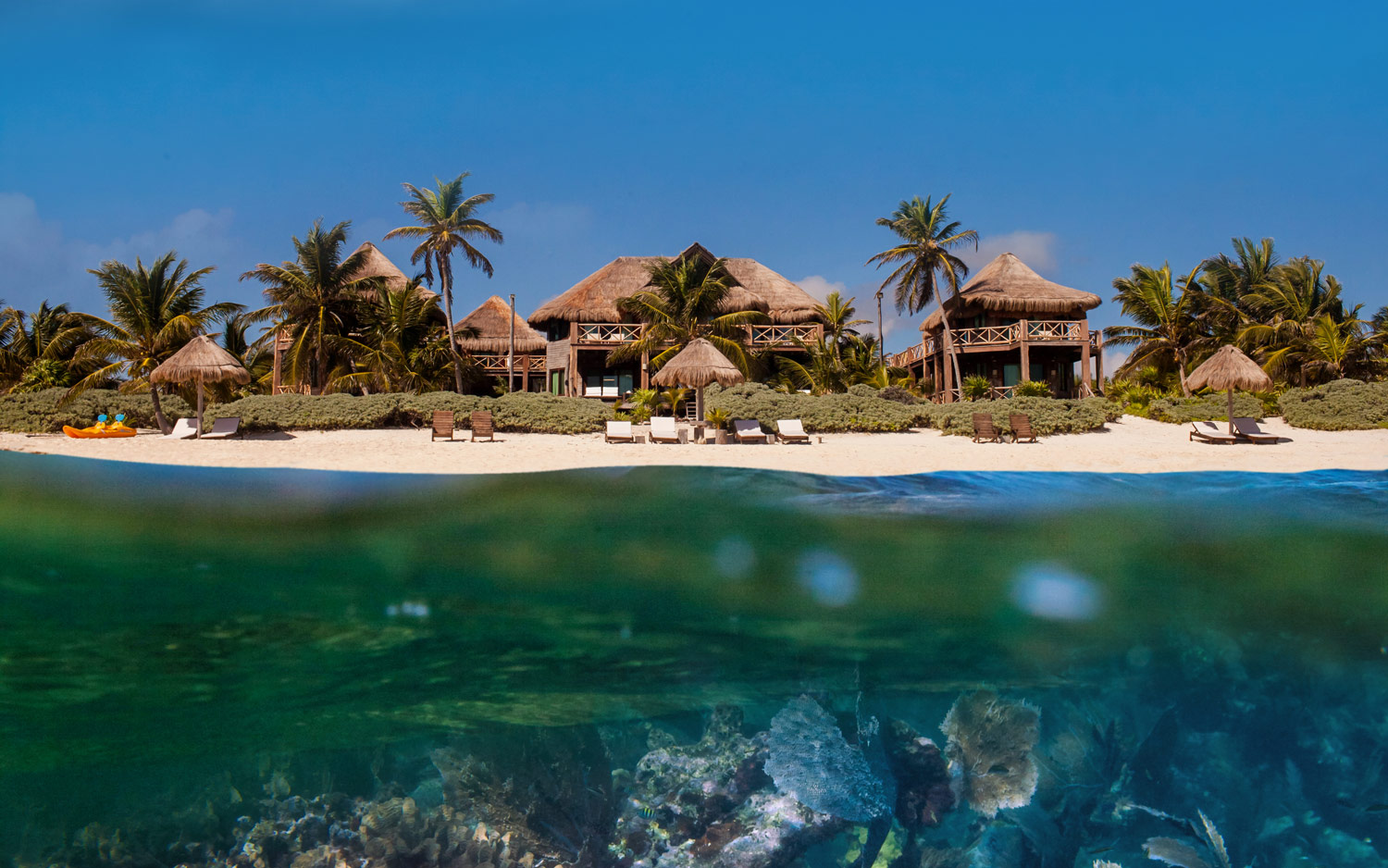 Vacations In Sian Ka An Mexico Oceanfront Village