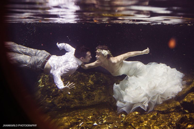 Sian Ka'an Cenote Weddings Photos