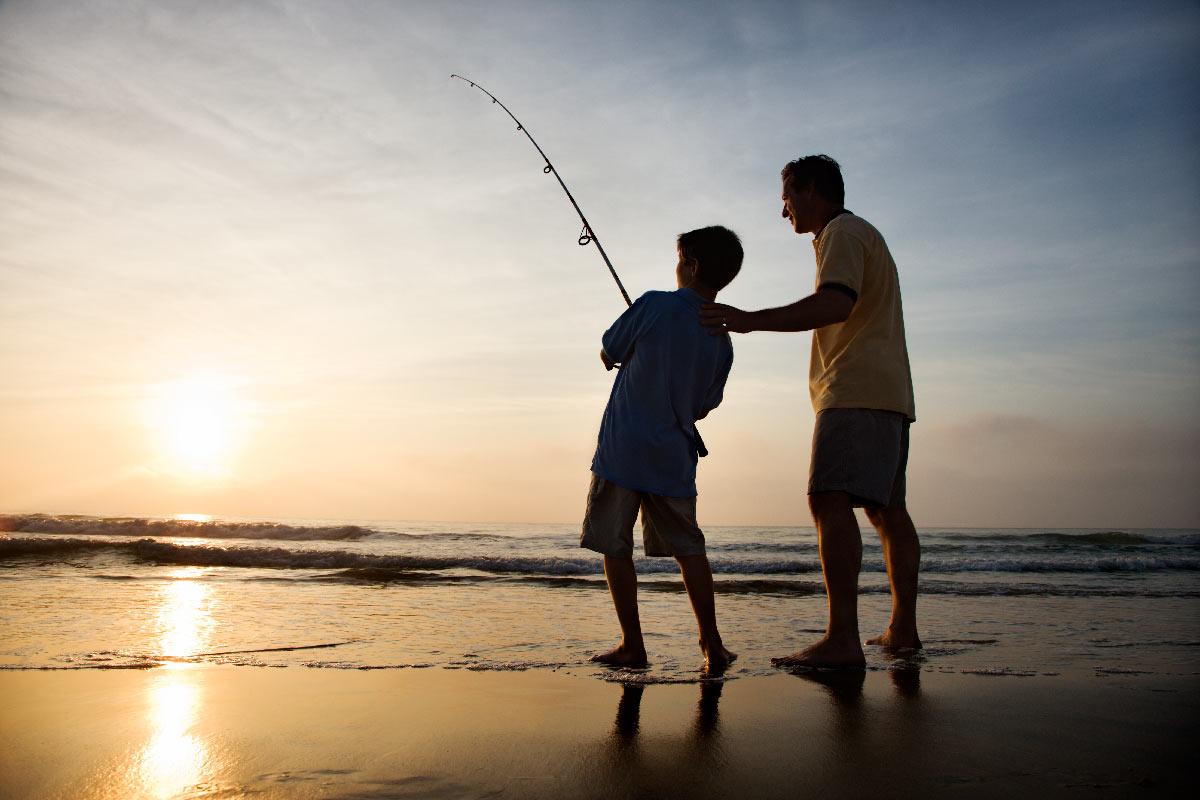 Fishing in Sian Ka'an