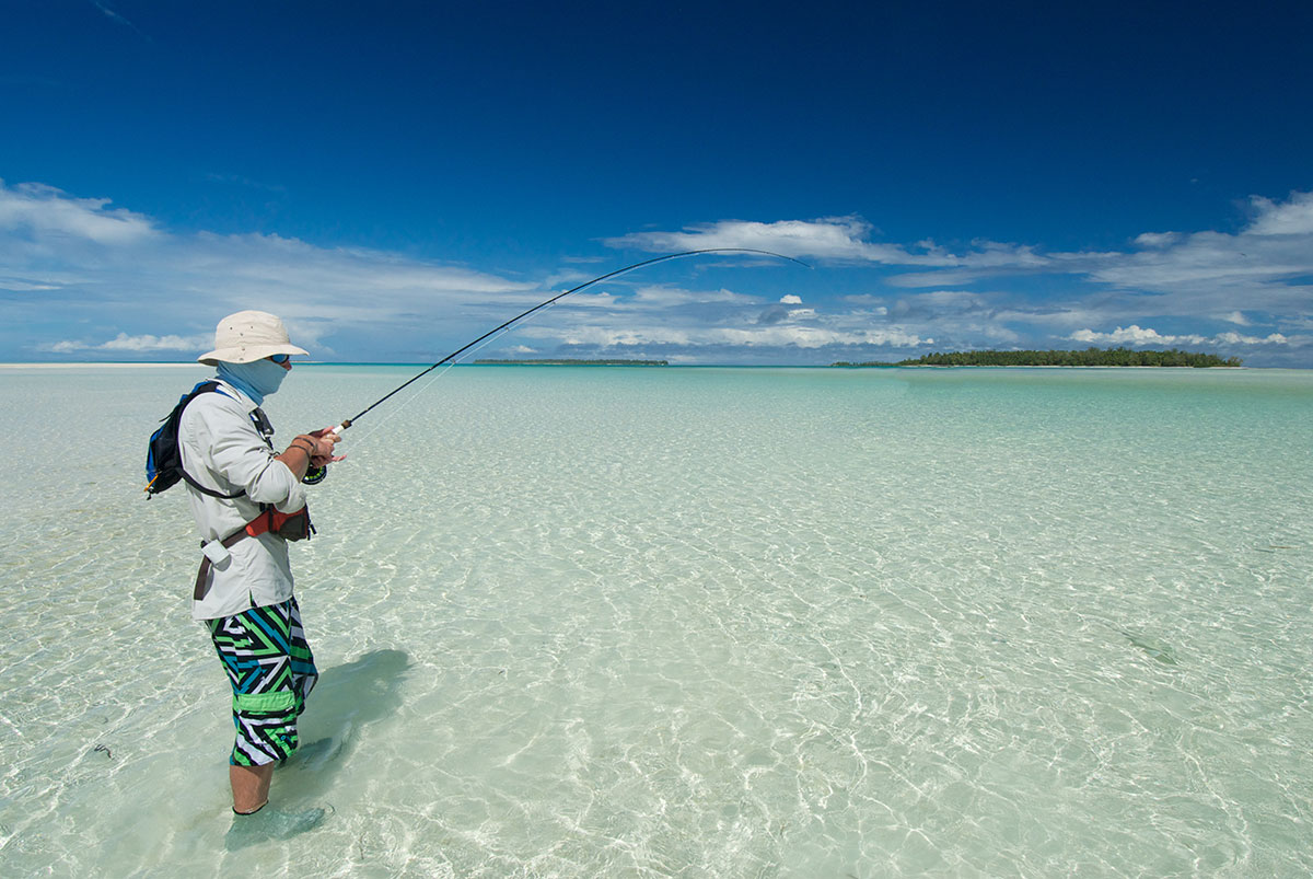 fly fishing at punta allen paradise blogging