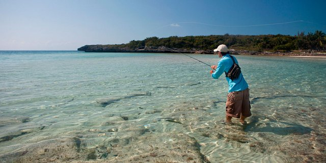 Luxury fly fishing escape sian kaan
