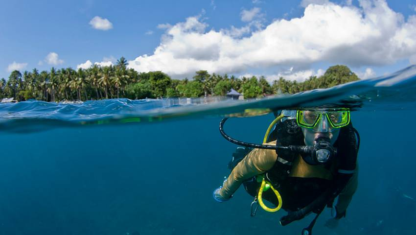 Paradise diving adventure sian kaan packages