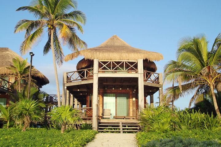 Ocean Front Cabins Building Sian Ka'an Village